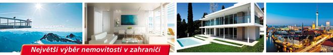 Luxusní vily a domy v zahraničí