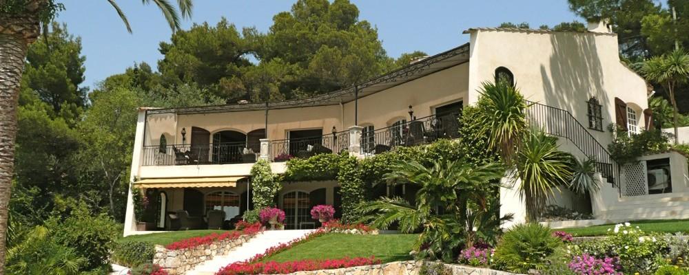 Exkluzivní vily na Azurovém pobřeží