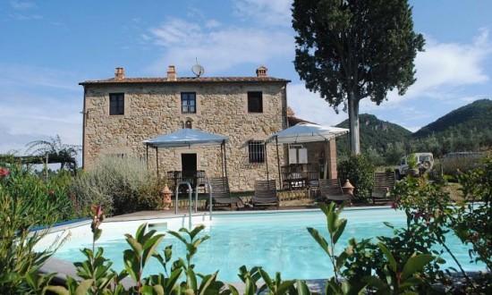 Kamenný dům, Toskánsko, Itálie
